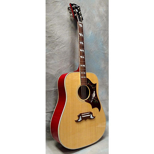Gibson Dove Natural Acoustic Electric Guitar-thumbnail