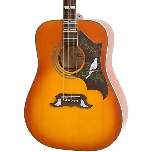 Epiphone Dove Pro Acoustic-Electric Guitar-thumbnail