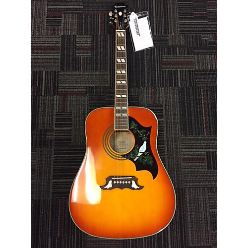 Epiphone Dove Pro Acoustic Electric Guitar-thumbnail