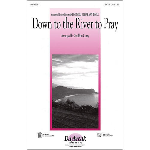 Hal Leonard Down To The River To Pray SATB-thumbnail