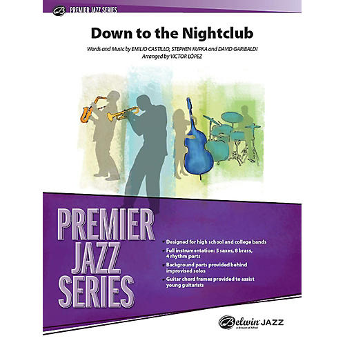 Alfred Down to the Nightclub Jazz Band Grade 4 Set