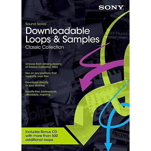 Sony Downloadable Loops Classic Collection Software Download