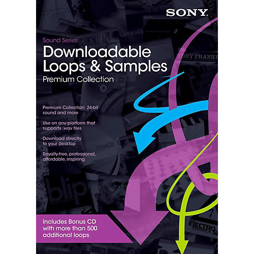 Sony Downloadable Loops Premium Collection Software Download