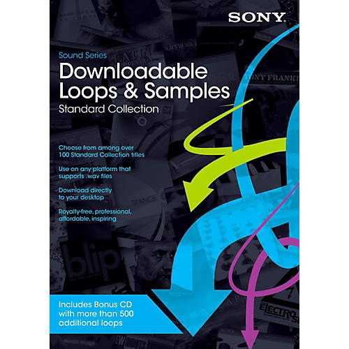 Magix Downloadable Loops Standard Collection