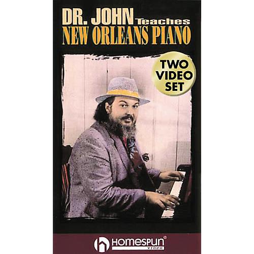 Hal Leonard Dr. John Teaches New Orleans Piano - 2-Video Set-thumbnail