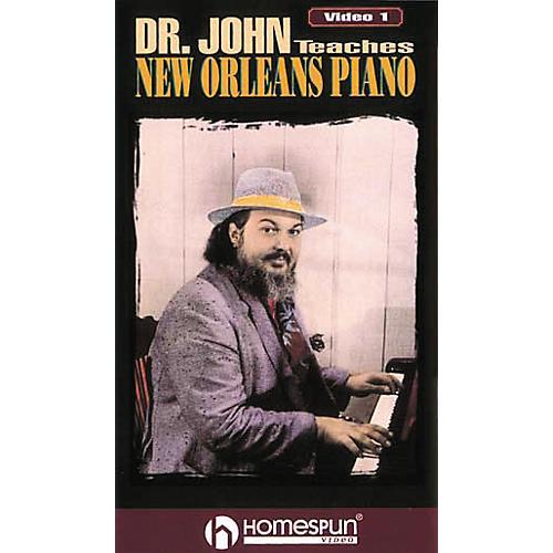 Hal Leonard Dr. John Teaches New Orleans Piano Volume 1 Video