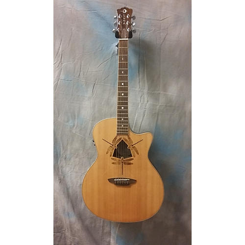 Luna Guitars Dragonfly Acoustic Electric Guitar