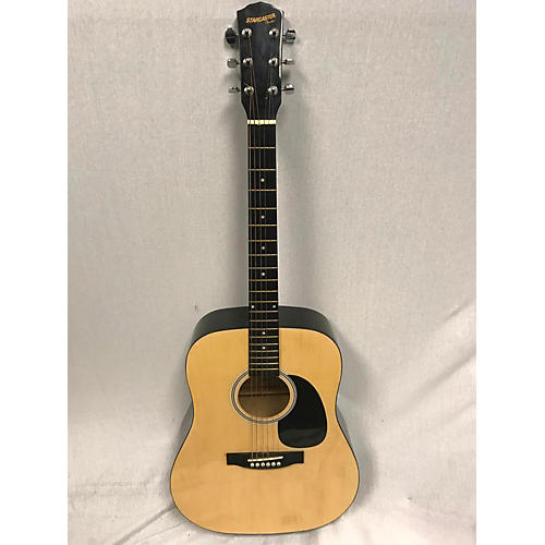 Starcaster by Fender Dreadnaught Acoustic Guitar-thumbnail