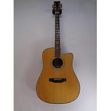 Aria Dreadnaught Pro AD80SEN Acoustic Electric Guitar