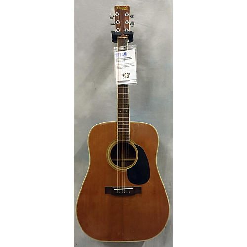 Yamaki Dreadnought (spruce/Rosewood) Acoustic Guitar-thumbnail