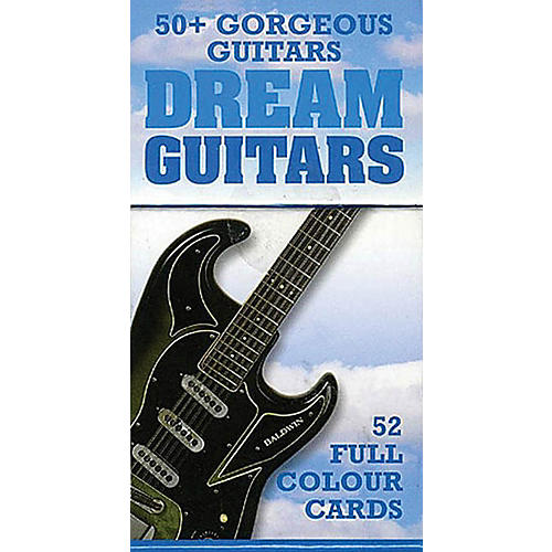 Music Sales Dream Guitars - 52 Great Guitar Cards