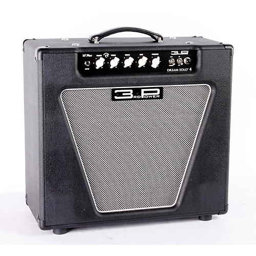 3rd Power Amps Dream Solo 4 22W 1x12 Tube Guitar Combo Amp Black 886830961519