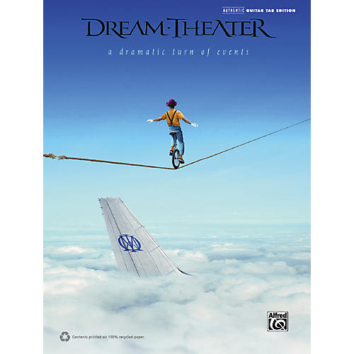 Alfred Dream Theater - A Dramatic Turn of Events Guitar TAB Book-thumbnail