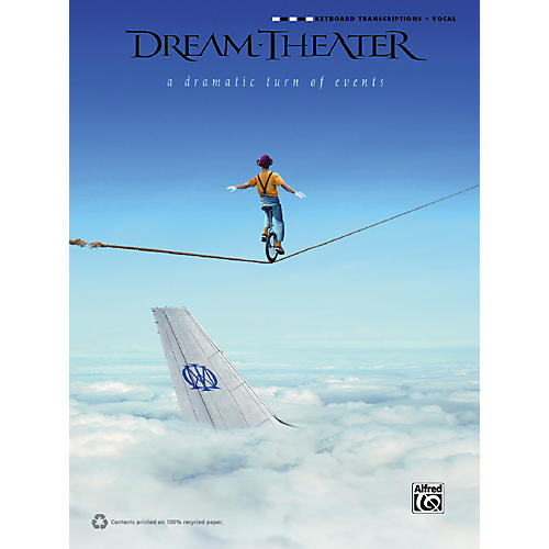 Alfred Dream Theater - A Dramatic Turn of Events Keyboard Transcription Book-thumbnail
