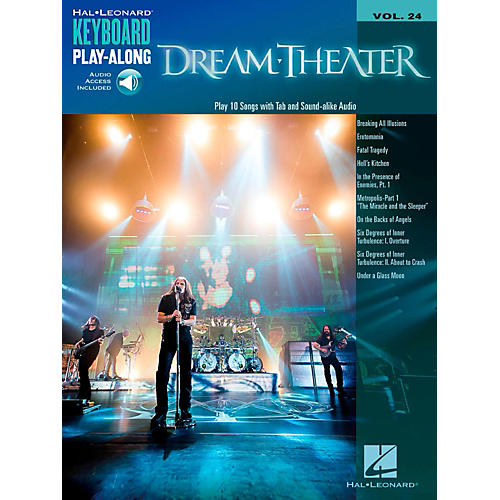 Hal Leonard Dream Theater - Keyboard Play-Along Vol. 24 Book/Audio Online-thumbnail