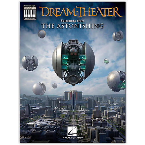 Hal Leonard Dream Theater-Selections from The Astonishing Keyboard Transcriptions-thumbnail