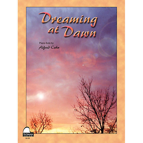 SCHAUM Dreaming At Dawn Educational Piano Series Softcover