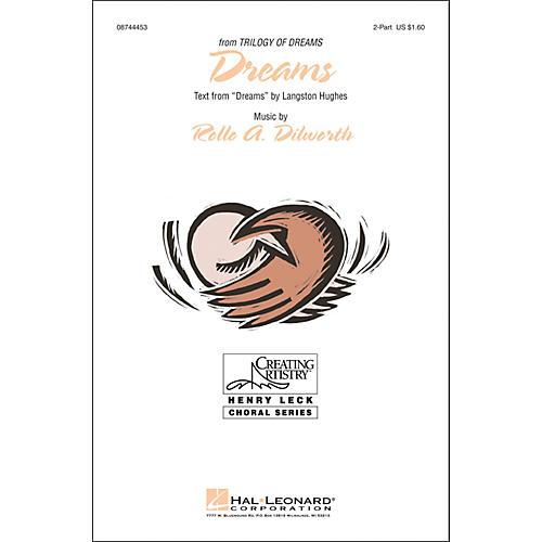 Hal Leonard Dreams 2-part choral