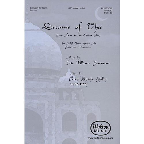 Walton Music Dreams Of Thee SAB