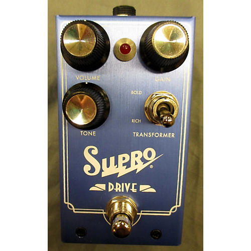 Supro Drive Ampeg Guitar Effects Effect Pedal-thumbnail