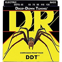 DR Strings Drop-Down Tuning 5-String Heavy Bass Strings