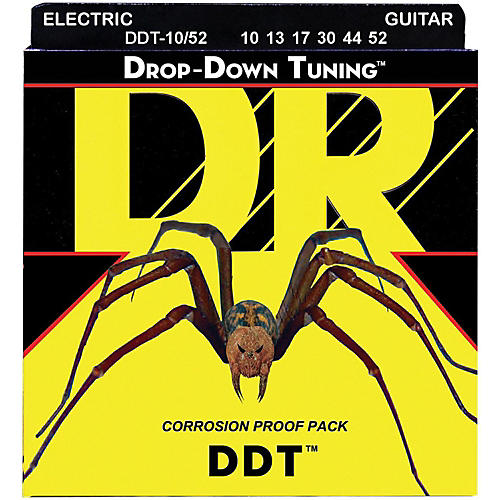 DR Strings Drop Down Tuning Big N' Heavy Electric Guitar Strings (10-52)