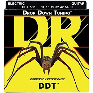 DR Strings Drop Down Tuning DDT Electric 7 String Set by DR Strings