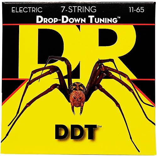 DR Strings Drop Down Tuning DDT Electric 7 String Set-thumbnail