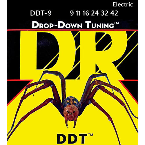 DR Strings Drop Down Tuning Lite Electric Guitar Strings (9-42)-thumbnail