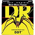 DR Strings Drop Down Tuning Medium 5-String Bass Strings (45-125)  Thumbnail