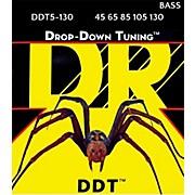Drop Down Tuning Medium 5-String Bass Strings (45-130)