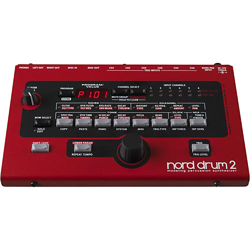 Nord Drum 2 Modeling Percussion Synthesizer-thumbnail