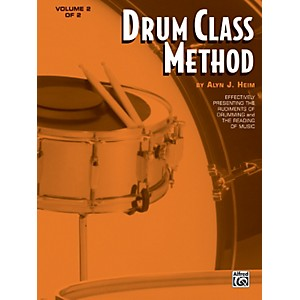 Alfred Drum Class Method Volume 2 Book by Alfred