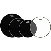 "Remo Drum Head Resonant Pack 12"", 13"", 16"" with 14"" Hazy Snare-Side Drum Head"
