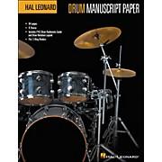 Hal Leonard Drum Manuscript Paper (8.5 X 11)