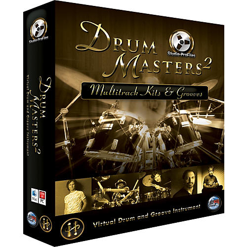 Sonic Reality Drum Masters 2: Multitrack Kits & Grooves (DVD Edition)-thumbnail