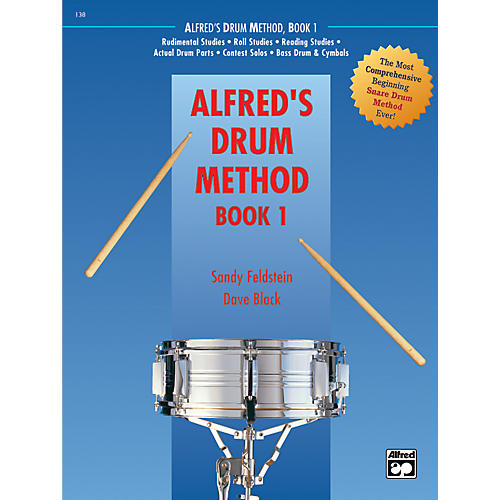Alfred Drum Method Book 1 with DVD