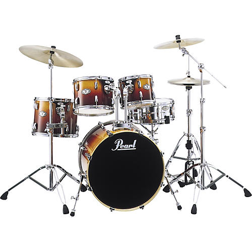 Pearl Drum Set with Hardware-thumbnail
