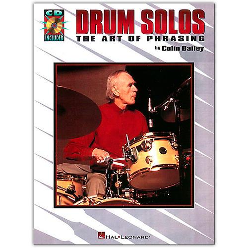 Hal Leonard Drum Solos: The Art of Phrasing Book/Online Audio