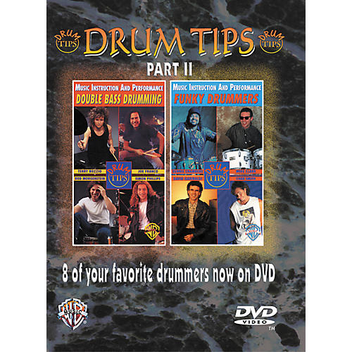 Alfred Drum Tips Part II - Double Bass Drumming/Funky Drummers DVD-thumbnail