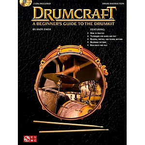 Cherry Lane Drumcraft - A Beginners Guide To The Drumkit Book/2CDs by Cherry Lane