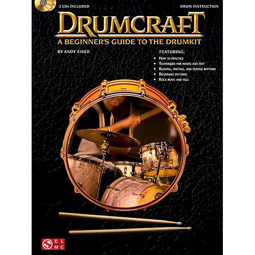Cherry Lane Drumcraft - A Beginner's Guide To The Drumkit Book/2CD's-thumbnail