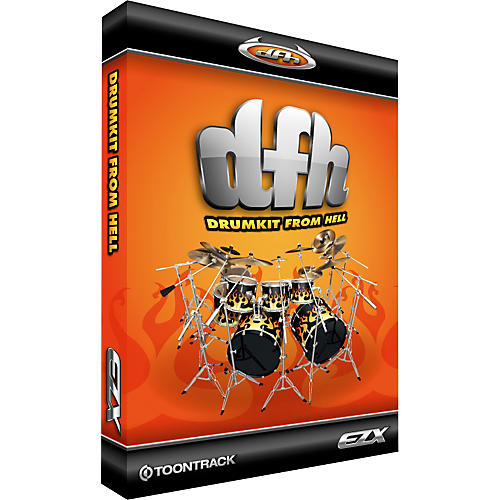 Toontrack Drumkit From Hell EZX-thumbnail
