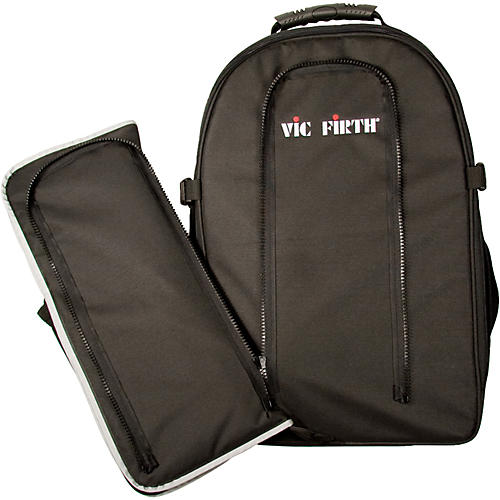 Vic Firth Drummer's Backpack With Removable Stick Bag-thumbnail