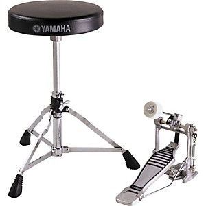 Yamaha Drummers Bass Drum Pedal and Throne Package