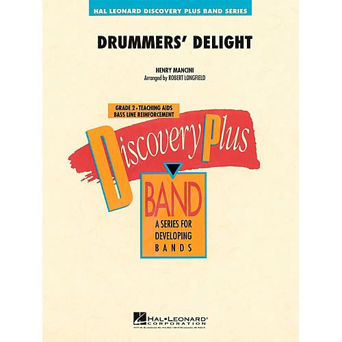 Hal Leonard Drummers' Delight - Discovery Plus Concert Band Level 2-thumbnail