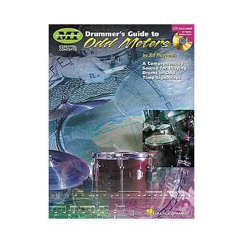 Hal Leonard Drummer's Guide to Odd Meters Book/CD-thumbnail