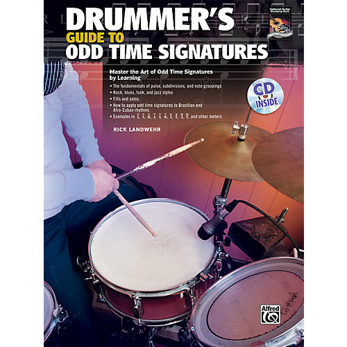 Alfred Drummer's Guide to Odd Time Signatures (Book/CD)