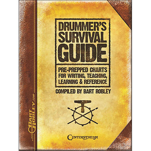 Centerstream Publishing Drummer's Survival Guide: Pre-Prepped Charts for Writing, Teaching, Learning, And Reference