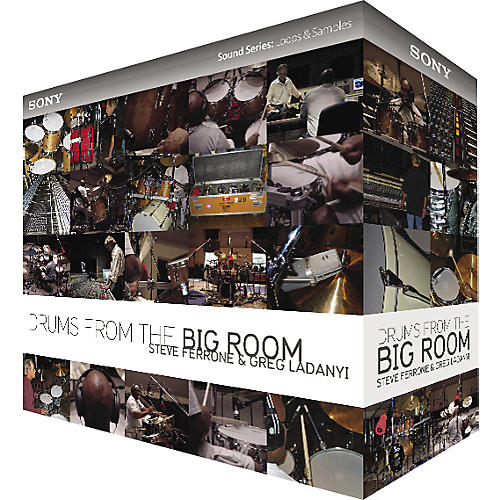Sony Drums from the Big Room: The Mixes